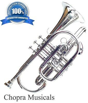 Buy Cornet 3 Valve Bb Flat with Mouth Piece & Case Free Shipping