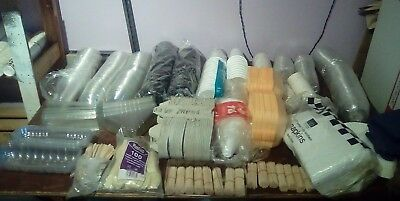 Job lot of clearance disposable catering supplies from closed business
