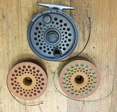 Dragonfly Concept Disc 375 Fly reel