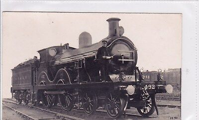 S.e.&c.r Locomotive Number 492 F Moore's Rp