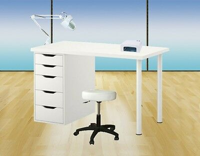 Cabin Care Table Manicure Nails Lamp Uv Aesthetics Institute Nail Spa
