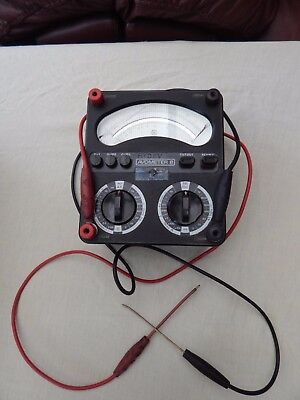 Avometer 8 Avo Electrical Test Equipment With Leads Wires Old Vintage