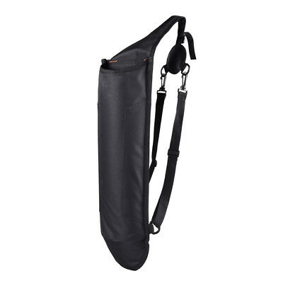 Black Back Quiver Belt Pouch Bow Archery Hunting Accessories Holds 40 Arrows