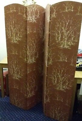 Retro Privacy 4 Panelled Dressing Screen