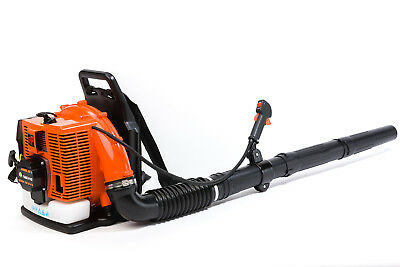 TIMBERPRO 85cc Backpack Leaf Blower, High Velocity 280mph Air Speed. Back Pack