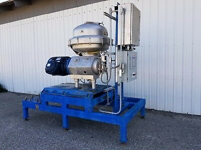 Alfa Laval Centrifuge SRPX-417-HGV-14CH, Complete Skid Mounted System