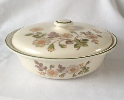 M&S Autumn Leaves Casserole / Serving Dish - Marks and Spencer