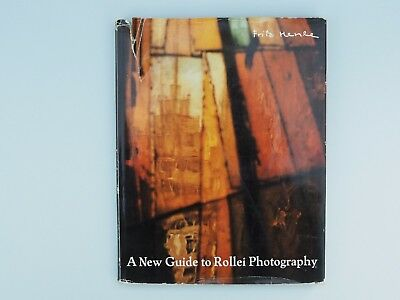 A New Guide to Rollei Photography by Fritz Henle and a 1970 Rollei Catalogue