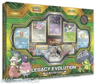 Pokemon TCG: Legacy Evolution Pin Collection :: Brand New And Sealed Box!