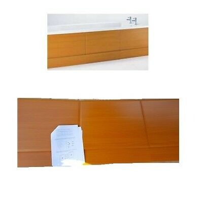 New Modern 1700Mm Pine Effect Wooden Front Side Bath Panel *sale*