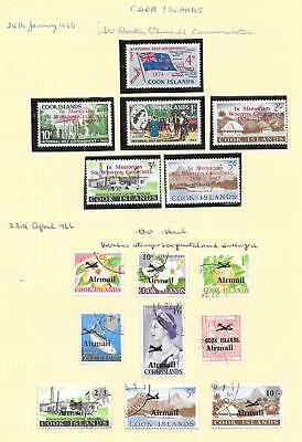 Cook Islands stamps 1966 Collection of 15 stamps HIGH VALUE!