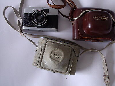 Vintage Old Cameras and Cases Job Lot