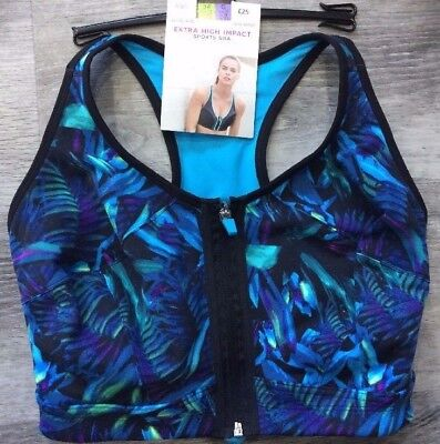 M&S Extra High Impact Sports Bra Non Wired Ultimate Bounce Reduction