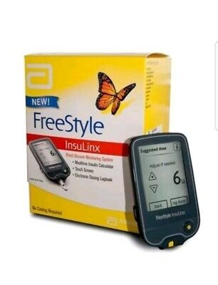 FreeStyle InsuLinx Blood Glucose Meter EXPIRY 11/2018 -TOUCH SCREEN - RRP £59.99