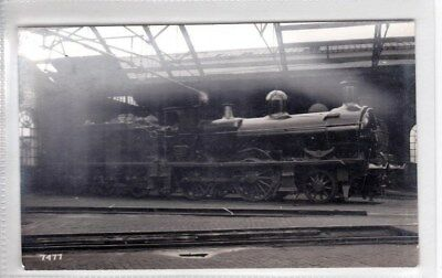 Ex Mswj - Gwr Locomotive Number 1336 F Moore's. Rp