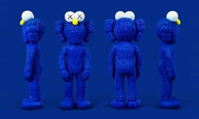 KAWS BFF VINYL BLUE - MOMA EXCLUSIVE - 2017 OPEN EDITION confirmed!!