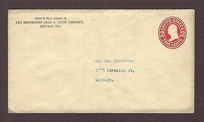 mjstampshobby 1907 US Vintage Cover Used (Lot4874)