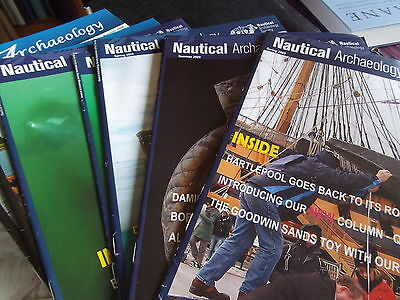 Job lot of Nautical Archaeology  Newsletter Journals - unused/exc.cond.