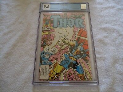 Marvel Thor 339 Cgc 9.6 White Pages Walt Simonson Beta Ray Bill Hulk Avengers