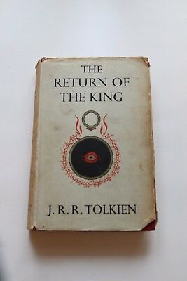 Lord of the Rings - Return of the King Tolkien First Edition 2nd Impression 1955