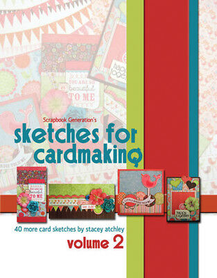 Scrapbook Generation Sketches For Cardmaking Volume 2 SG-CV2