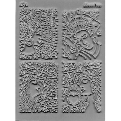 """Lisa Pavelka Individual Texture Stamp 4.25""""X5.5"""" About Face LP527-042"""