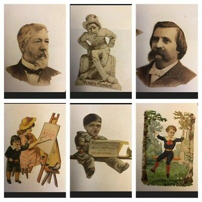 Vintage Victorian Diecuts And Cutouts