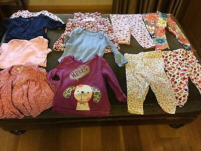 Baby Girls Clothes 3-6 Months Bundle Including Next, Mamas And Papas And H&M