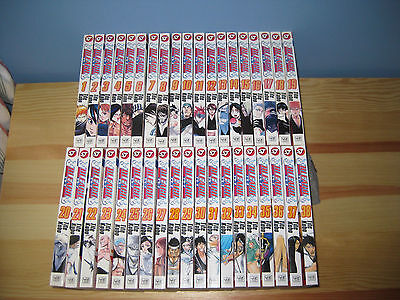 Bleach Manga Volumes 1 - 38 EXCELLENT CONDITION