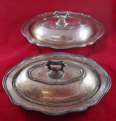 Antique 19th C. Silver Plated On Copper Covered Bowl Platter Old Sheffield Plate
