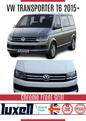 VW TRANSPORTER T6 2015Up Chrome Front Grill 4Pieces Stainless Steel