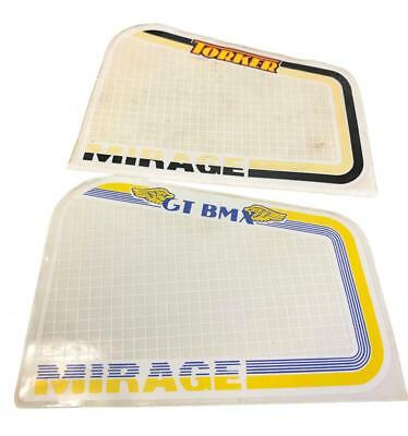 Mirage Old School BMX Brake Guard Sticker NOS New Old Stock 1984