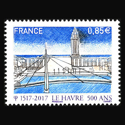 France 2017 - Anniv. of the Port and City of Le Havre Architecture - Sc 5289 MNH