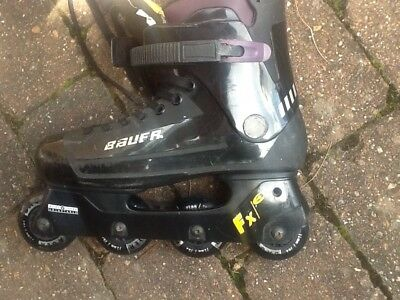 womens Bauer roller blades - fit size 7/8