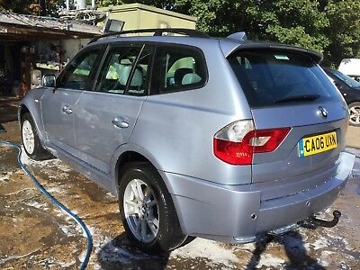 06 Bmw X3 Leather, Sat Nav, Climate, Drives 100% Abs Light & Tb Light On 2Wd