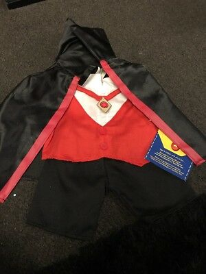 build a Bear Factory Vampire Costume Halloween Outfit