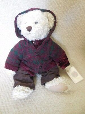 """Russ Vintage Collection Stuffed Bear """"Lady Larrisa"""""""