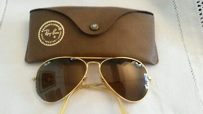 Vintage Ray Ban Aviator Originali B&l  Bausch & Lomb Made In Usa Sunglasses
