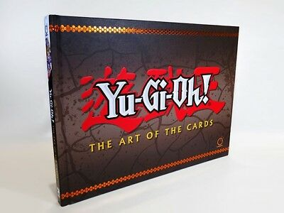 Yu-Gi-Oh! The Art of the Cards Hardcover Book - 800 YuGiOh Artwork Illustrations