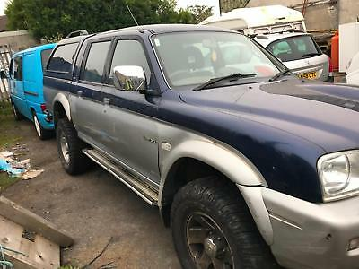 2002 Mitsubishi L200 2.5 TD 4Life Double Cab 4 Life For Spares or Repair