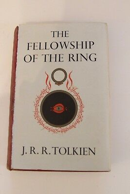 LOTR The Fellowship of the Ring - Tolkien - First Edition 5th Impression 1956
