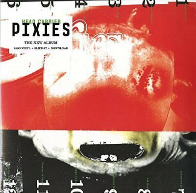 "LP PIXIES ""HEAD CARRIER - INDIES"". Nuevo"