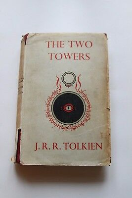 Lord of the Rings - The Two Towers - Tolkien - First Edition 4th Impression 1956