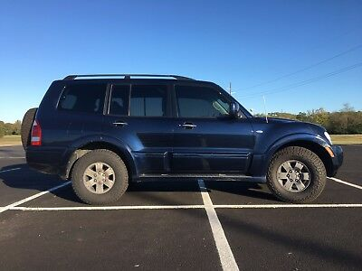 2003 Mitsubishi Montero Limited 2003 Mitsubishi Montero Limited 4x4 Good condition new tires Leather Heated Seat