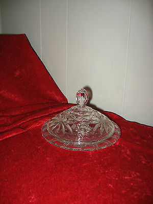 Older  Cut Glass Covered Dish