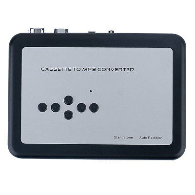 Tape-to-MP3 Converter Flash Disk Auto Partition Earphone Cassette Player
