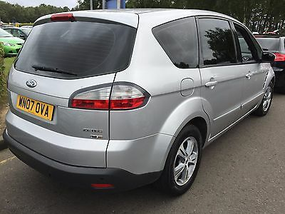 07 Ford S-Max 1.8 Tdci Zetech 7 Seats, Climate,alloys,cd,h/screen,privacy Glass