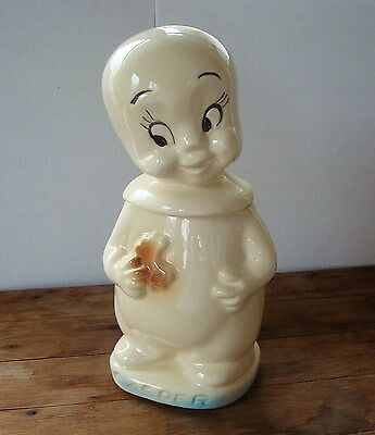 1960s CASPER THE FRIENDLY GHOST Cookie Jar ** RARE ** Harvey Productions USA **