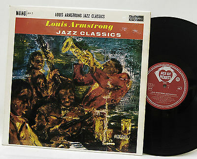 Louis Armstrong      Jazz Classics       Ace of hearts        NM #  37