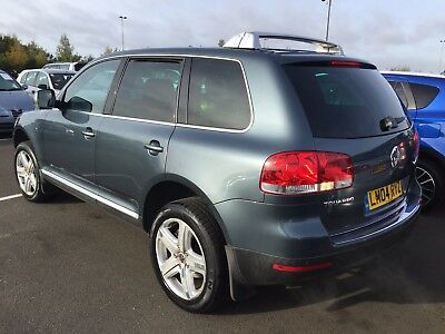 04 Volkswagen Touareg 3.2 V6 Sport Full Leather, Sat Nav, Climate, Alloys Cruise